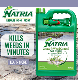 Natria Kills weeds in minutes